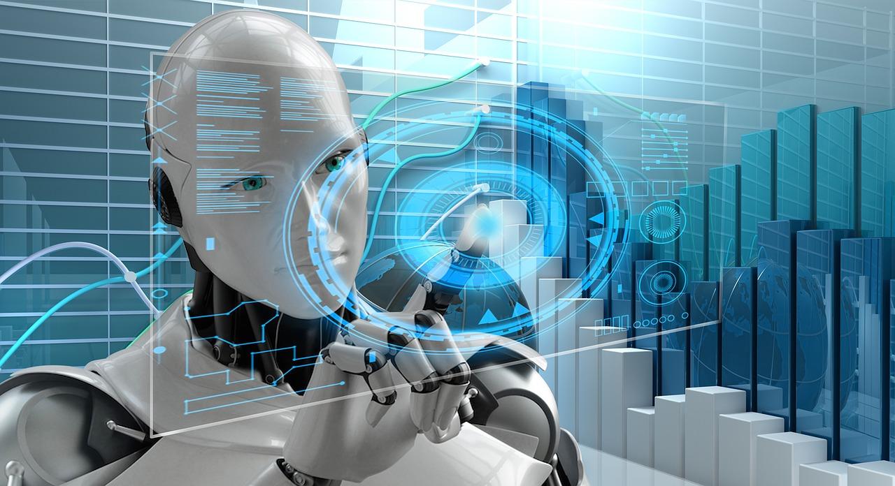 Vortrag, Show und Referat über künstliche Intelligenz